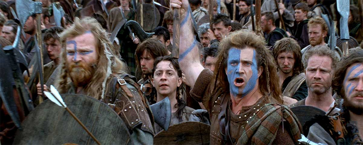 The best Quotes from Braveheart