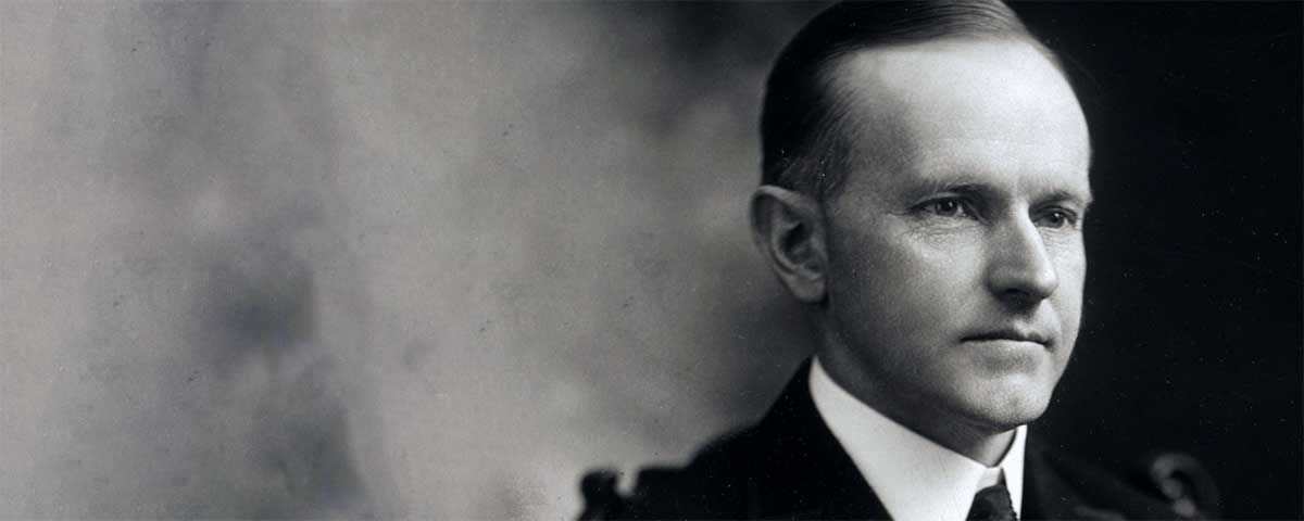 Quotes by Calvin Coolidge