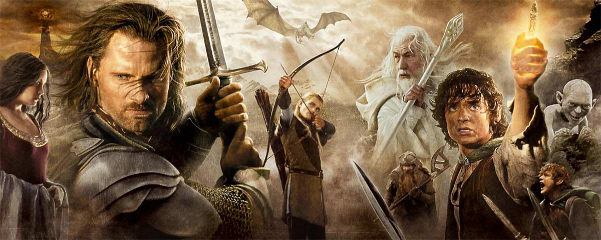 Book Quotes and Movie Quotes from The Lord of the Rings