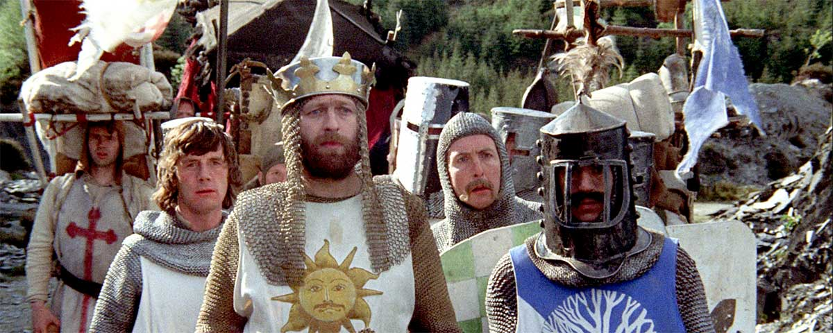 The best Quotes from Monty Python and the Holy Grail