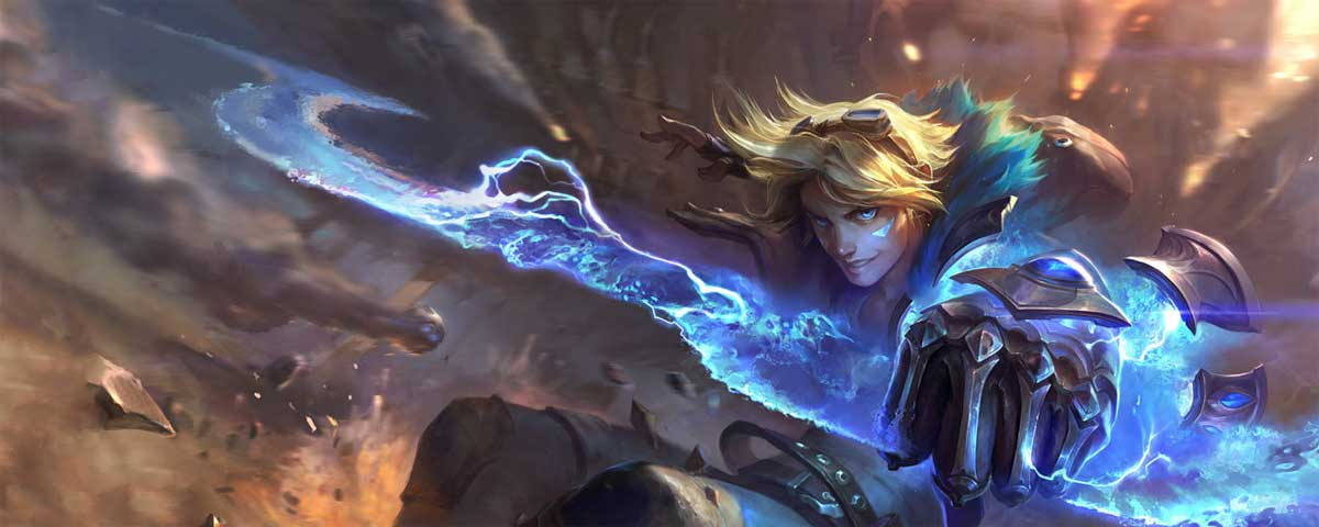 Quotes by Ezreal, the Prodigal Explorer