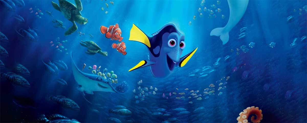 The best Quotes from Finding Dory