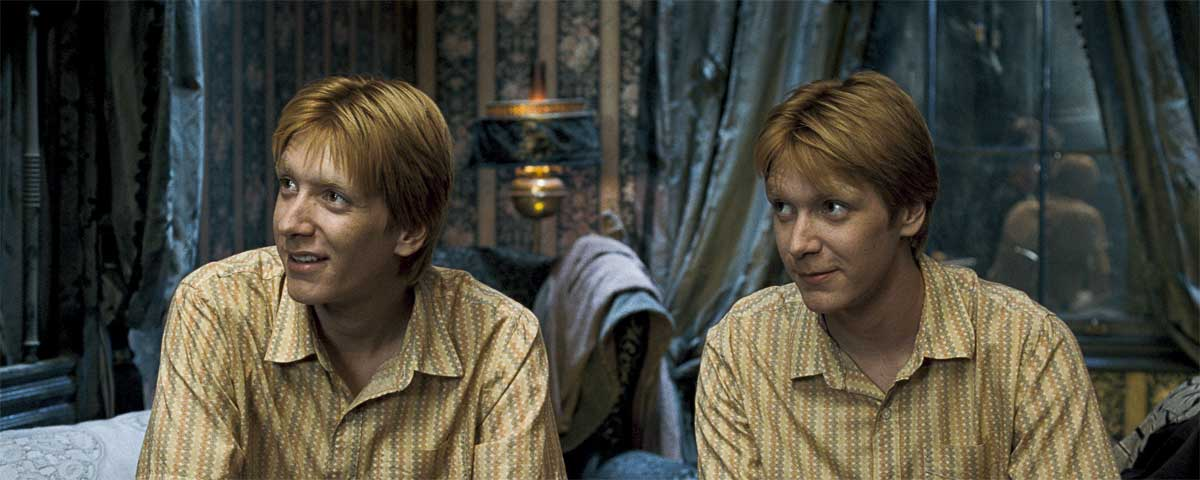 Quotes by Fred and George Weasley