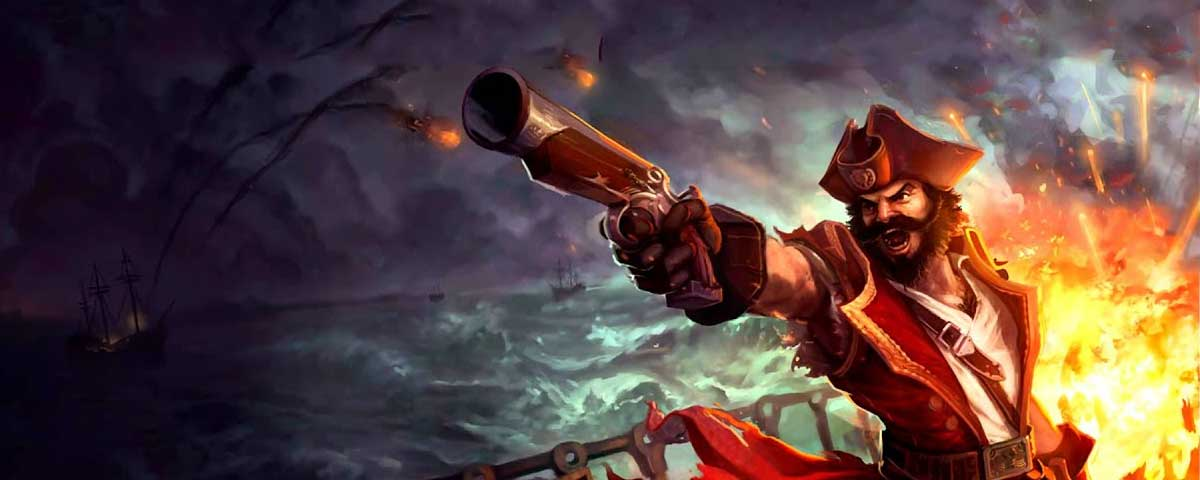 Quotes by Gangplank the Saltwater Scourge