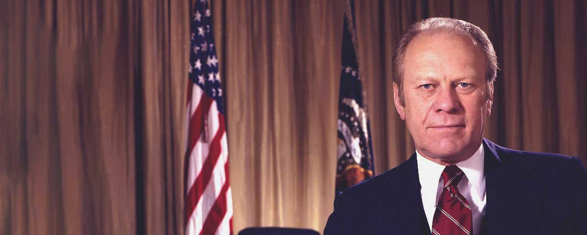 Quotes by Gerald R. Ford