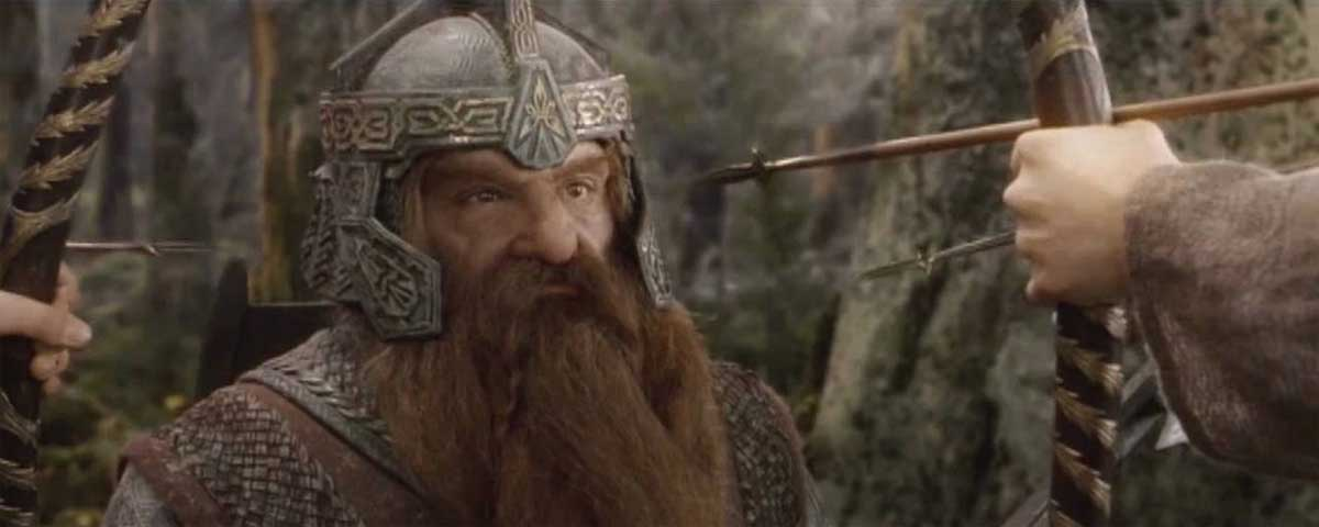 Quotes by Gimli