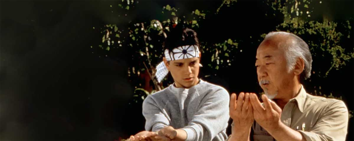 The Karate Kid - The best Quotes by Mr. Miyagi