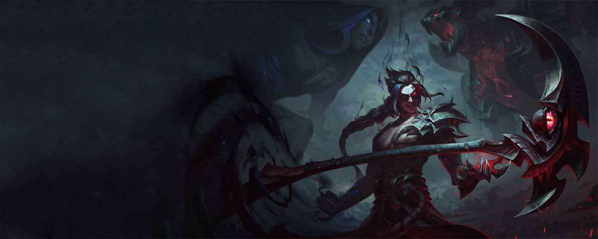 Quotes and Voice-Lines by Kayn, the Shadow Reaper