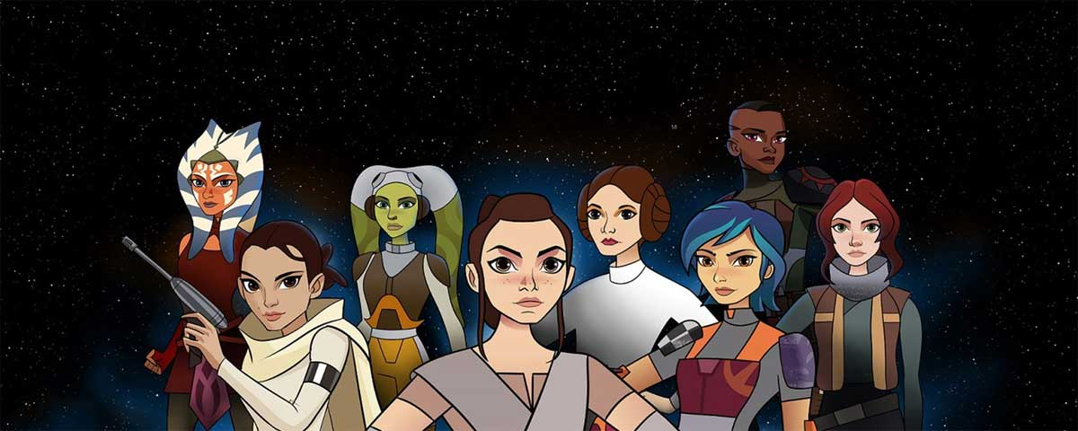 Quotes from Star Wars: Forces of Destiny