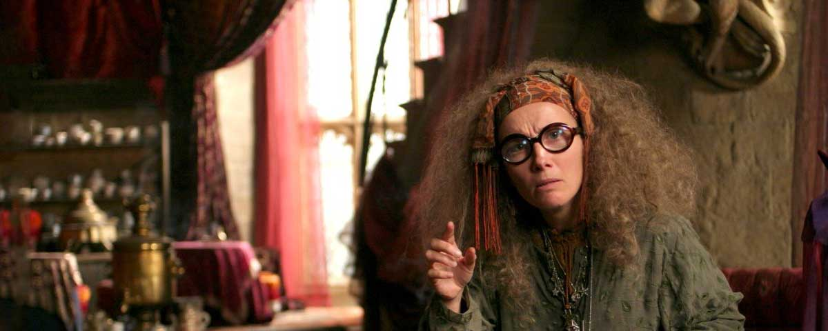 Quotes by Sybill Trelawney