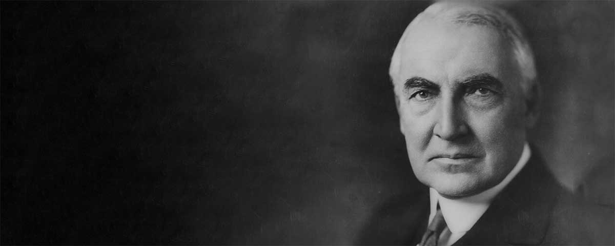 Quotes by Warren G. Harding