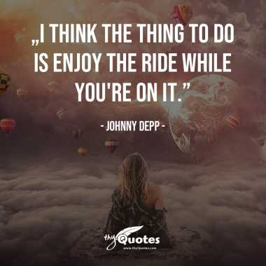 Johnny Depp: Positive Quotes